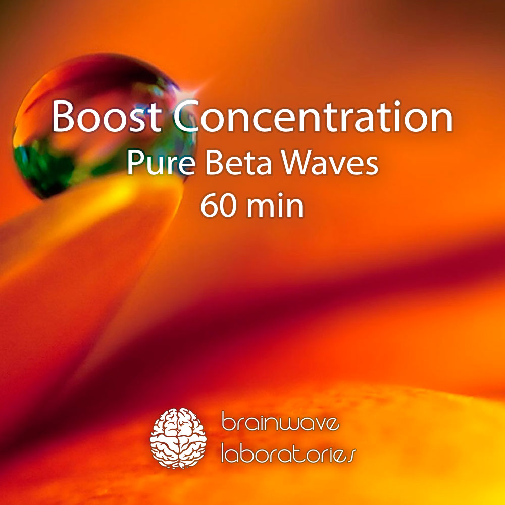 Boost Concentration with Pure Beta Waves (60min)